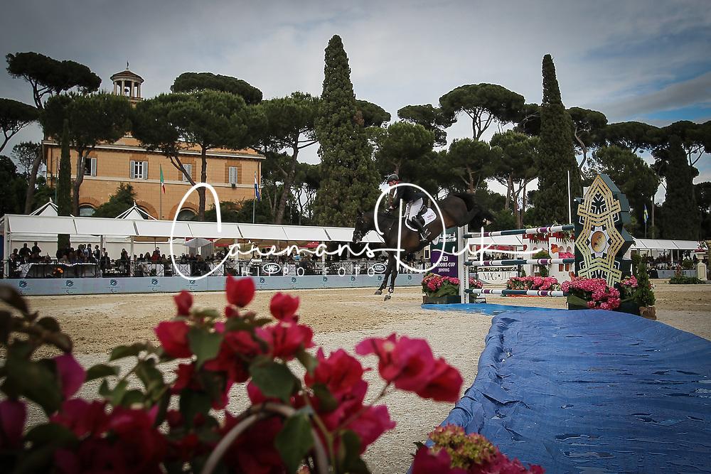 Whitaker John, (GBR), Argento<br /> Piazza Di Siena - CSIO Roma 2015<br /> &copy; Hippo Foto - Stefano Secchi