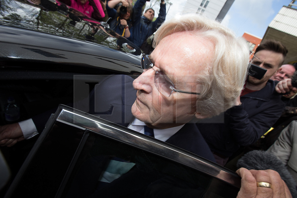 © Licensed to London News Pictures . 14/05/2013 . Preston , UK . BILL ROACHE MBE leaves Preston Magistrates Court this morning (Tuesday 14th May 2013) . The Coronation Street star is accused of two counts of rape . Photo credit : Joel Goodman/LNP