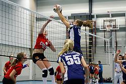 05-01-2013 VOLLEYBAL: NOJK 2013: DEN HAAG <br /> In 25 sporthallen worden vandaag de Nationale Open Club Kampioenschappen gehouden, A Jeugd / <br /> &copy;2012-FotoHoogendoorn.nl / Pim Waslander