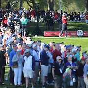 Ryder Cup 2016. Day One. J. B. Holmes of the United States in action during the Friday afternoon four-ball competition during the Ryder Cup at  Hazeltine National Golf Club on September 30, 2016 in Chaska, Minnesota.  (Photo by Tim Clayton/Corbis via Getty Images)