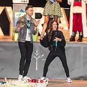 NLD/Amsterdam/20191206 - Sky Radio's Christmas Tree For Charity 2019, Saar Koningsberger en Rutger Vink