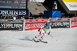 ZURBRIGGEN Elia of Switzerland competes during the Audi FIS Alpine Ski World Cup Men's Giant Slalom 58th Vitranc Cup 2019 on March 9, 2019 in Podkoren, Kranjska Gora, Slovenia. Photo by Peter Podobnik / Sportida