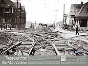 Old Streetcar Track Curve on Clayton & Frederick Sts | June 12, 1904