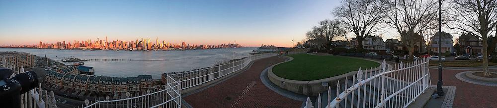 Manhattan from New Jersey.