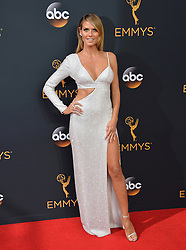 Heidi Klum bei der Verleihung der 68. Primetime Emmy Awards in Los Angeles / 180916<br /> <br /> *** 68th Primetime Emmy Awards in Los Angeles, California on September 18th, 2016***