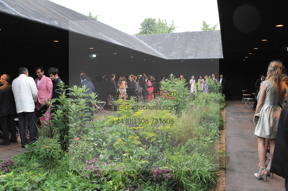 Atmosphere at the annual Serpentine Gallery Summer Party sponsored by Burberry held at the Serpentine Gallery, Kensington Gardens, London on 28th June 2011.