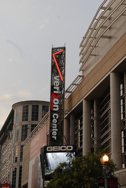 Verizon Center on August 1, 2011