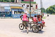 One of the many improvised forms of transport in Cuba.<br />