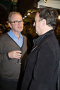 HARRY ENFIELD; ANGUS DEAYTON;  , Allie Esiri's The Love Book launch party , Daunt Books <br /> 83 Marylebone High Street, London. 5 February 2014