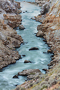 Shoshone River in the Bighorn Basin of Wyoming