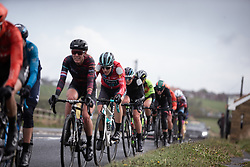 Elizabeth Banks (GBR) of Bigla Pro Cycling Team rides in the chasing group during the ASDA Tour de Yorkshire Women's Race 2019 - Stage 2, a 132 km road race from Bridlington to Scarborough, United Kingdom on May 4, 2019. Photo by Balint Hamvas/velofocus.com