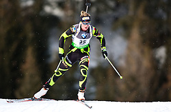 "19.01.2012, Südtirol Arena, Antholz, ITA, E.ON IBU Weltcup, 6. Biathlon, Antholz, Sprint Damen, im Bild Marie Dorin Habert (FRA) // Marie Dorin Habert (FRA) during Sprint Women E.ON IBU World Cup 6th, ""South Tyrol Arena"", Antholz-Anterselva, Italy on 2012/01/19, EXPA Pictures © 2012, PhotoCredit: EXPA/ Juergen Feichter"