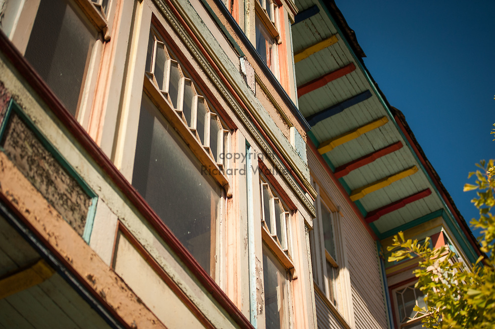 2016 October 11 - Old colorful building in the University District, Seattle, WA, USA. By Richard Walker