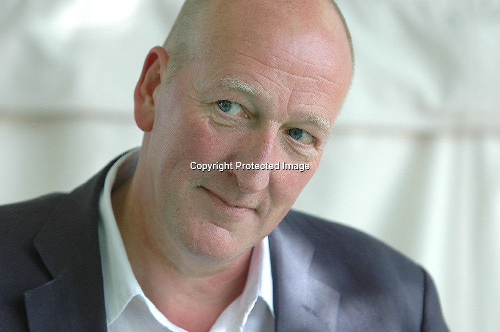 British crime writer Peter Guttridge at the Edinburgh International Book Festival 2005<br /> <br /> Copyright Pascal Saez<br /> Pascal Saez / Writer Pictures