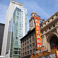 Chicago Theatre. The Chicago Theatre is a Chicago Landmark and is listed with the National Register of Historic Places.