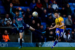 Ollie Clarke of Bristol Rovers is marked by Scott Kashket of Wycombe Wanderers - Mandatory by-line: Ryan Hiscott/JMP - 08/02/2020 - FOOTBALL - Adam's Park - High Wycombe, England - Wycombe Wanderers v Bristol Rovers - Sky Bet League One