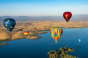 Temecula Valley Balloon Festival at Lake Skinner