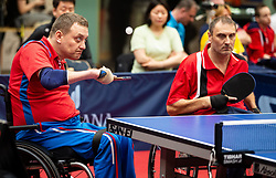 LAVROV Dmitry (RUS) and MAJOR Endre (HUN) during Team events at Day 4 of 16th Slovenia Open - Thermana Lasko 2019 Table Tennis for the Disabled, on May 11, 2019, in Dvorana Tri Lilije, Lasko, Slovenia. Photo by Vid Ponikvar / Sportida