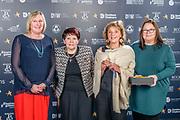 Scottish Border of Chamber Border Busines awards, 2017, held at Springwood Hall.<br /> <br /> 'Social Enterprise Business of the Year' winner ReTweed, based in Eyemouth. Sponsored by Scottish Border Social Enterprise Chamber.