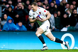 Chris Ashton of England scores a try - Mandatory by-line: Robbie Stephenson/JMP - 10/11/2018 - RUGBY - Twickenham Stadium - London, England - England v New Zealand - Quilter Internationals