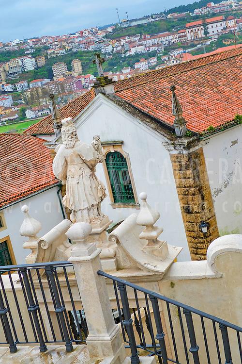 Alberto Carrera, City view from University of Coimbra, Coimbra, Portugal, Europe