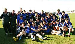 Rice College Westport Connacht Schools Junior Cup winners...Pic Conor McKeown