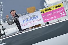 2014 - SOLITAIRE DU FIGARO ARRIVAL - 3rd LEG - LES SABLES D'OLONNE - FRANCE