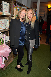 Left to right, LADY DUNSTONE and JENNY HALPERN-PRINCE at a Fondue evening hosted by Rose van Cutsem and her brother Tom Astor to celebrate the new ski Season with leading ski resort Meribel, Besson Clothing and ESF ski schools at Maggie & Rose, 58 Pembroke Road, London on 7th November 2016.