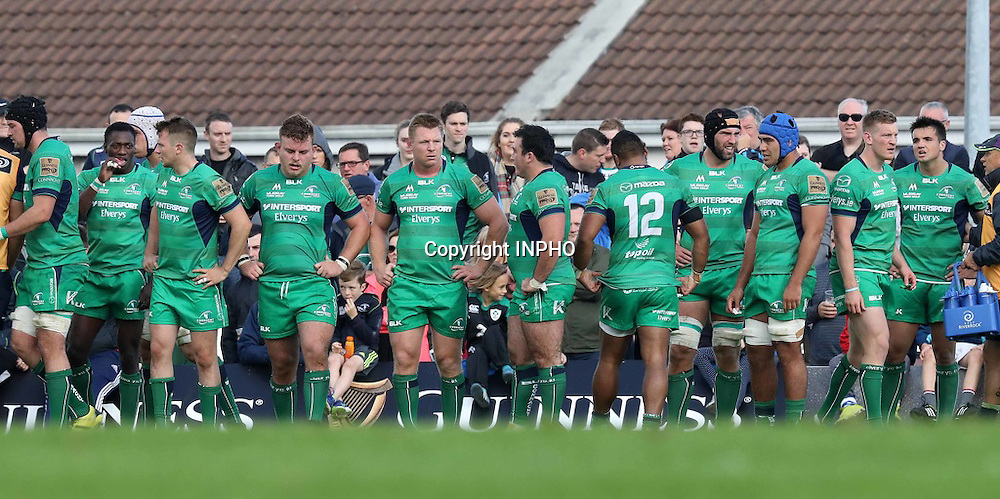 Guinness PRO12, Sportsground, Galway 3/9/2016<br /> Connacht vs Glasgow Warriors<br /> Connacht team<br /> Mandatory Credit &copy;INPHO/Billy Stickland
