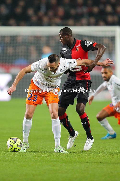 Jamel SAIHI - 06.12.2014 - Rennes / Montpellier - 17eme journee de Ligue 1 -<br />Photo : Vincent Michel / Icon Sport