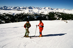 Canada: Winter in the Rockies.  Skiing at Goat's Eye-Sunshine.  Photo #: canwin104..Photo copyright Lee Foster, 510/549-2202, lee@fostertravel.com, www.fostertravel.com