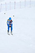 Schladming, Austria - 2017 March 20: Grete Soolo from SO Estonia competes in Cross Country Race while Special Olympics World Winter Games Austria 2017 in Ramsau am Dachstein on March 20, 2017 in Schladming, Austria.<br /> <br /> Mandatory credit:<br /> Photo by © Adam Nurkiewicz / Mediasport<br /> <br /> Adam Nurkiewicz declares that he has no rights to the image of people at the photographs of his authorship.<br /> <br /> Picture also available in RAW (NEF) or TIFF format on special request.<br /> <br /> Any editorial, commercial or promotional use requires written permission from the author of image.<br /> <br /> Image can be used in the press when the method of use and the signature does not hurt people on the picture.