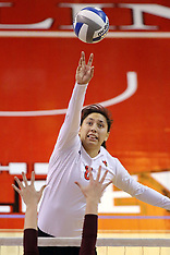 20141107 Loyola at Illinois State Women's Volleyball photos