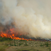 Churchill Tundra Fires on the Deer River
