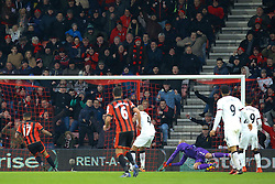 Goal, Joshua King of Bournemouth scores the equaliser, Bournemouth 1-1 Watford - Mandatory by-line: Jason Brown/JMP - 21/01/2017 - FOOTBALL - Vitality Stadium - Bournemouth, England - Bournemouth v Watford - Premier League