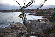 The world's largest free-to-the-public outdoor sculpture exhibition, Sculpture by the Sea, Bondi. .Byeong Doo Moon, I have been dreaming to be a tree.