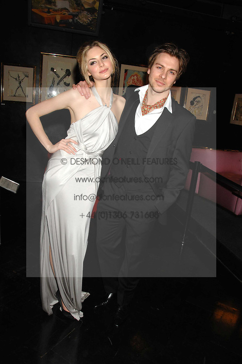 Actress TAMSIN EGERTON and ANDY JONES at Andy & Patti Wong's Chinese new Year party held at County Hall and Dali Universe, London on 26th January 2008.<br /> <br /> NON EXCLUSIVE - WORLD RIGHTS (EMBARGOED FOR PUBLICATION IN UK MAGAZINES UNTIL 1 MONTH AFTER CREATE DATE AND TIME) www.donfeatures.com  +44 (0) 7092 235465