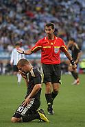 2010 World Cup Quarter Final - Argentina v Germany