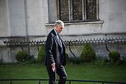 JONATHAN AITKEN, Service of thanksgiving for  Lord Snowdon, St. Margaret's Westminster. London. 7 April 2017