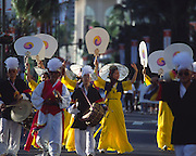 Parade, Waikiki, Oahu, Hawaii, (editorial use only, no model release)<br />