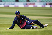 David Willey of England in the field during the One Day International match between England and Ireland at the Brightside County Ground, Bristol, United Kingdom on 5 May 2017. Photo by Andrew Lewis.
