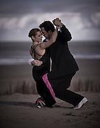 Tango on the Texel beach