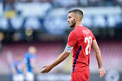September 15, 2018 - German Pezzella of ACF Fiorentina during the Serie A match between Napoli and Fiorentina at Stadio San Paolo, Naples, Italy on 15 September 2018. Photo by Giuseppe Maffia. (Credit Image: © AFP7 via ZUMA Wire)