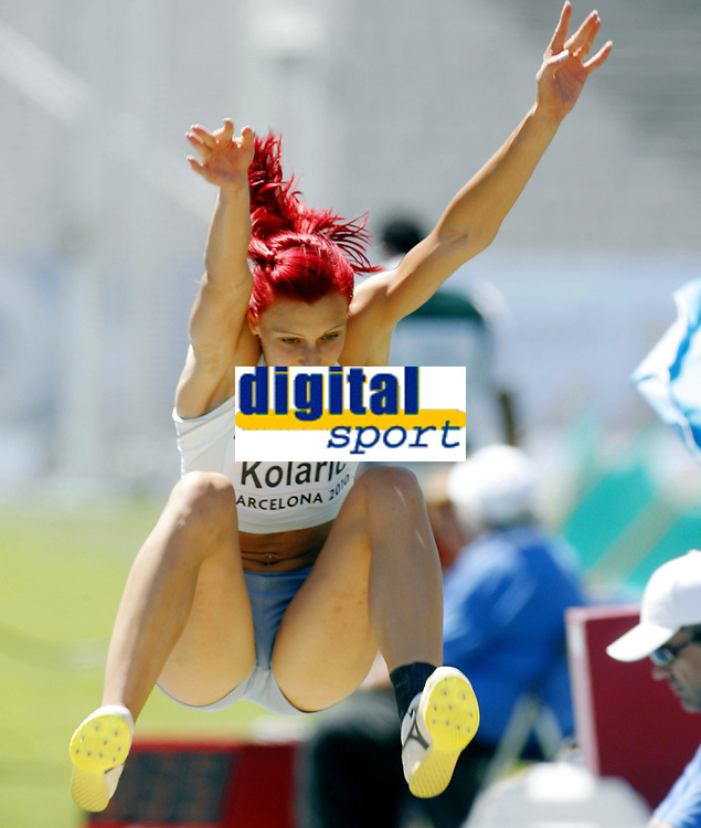 Friidrett, 27. juli  2010 ,<br /> EM Barcelona<br /> <br /> European Athletics Championships<br /> Barcelona<br /> <br /> Nina Kolaric , SLO  lengde<br /> <br /> Foto: Anders Hoven , Digitalsport