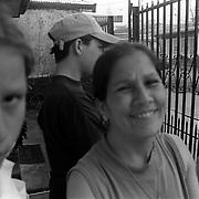ANGELA JIMENEZ-CR roll 19 February 15, 1999<br />From left to right- Kattia, John and Lydia.