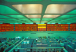 Interior Of Foreign Stock Exchange