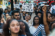 2016-07-08 Black Lives Matter protest march in London following US killings