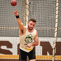 Brendan Ritchie, Saskatchewan, 2019 U SPORTS Track and Field Championships on Thu Mar 07 at James Daly Fieldhouse. Credit: Arthur Ward/Arthur Images