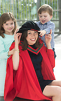 27/02/2014 XX job Muireann and Marcus and Dr. Siona Quirke who got a MD in Medicine from NUIG. Photo:Andrew Downes