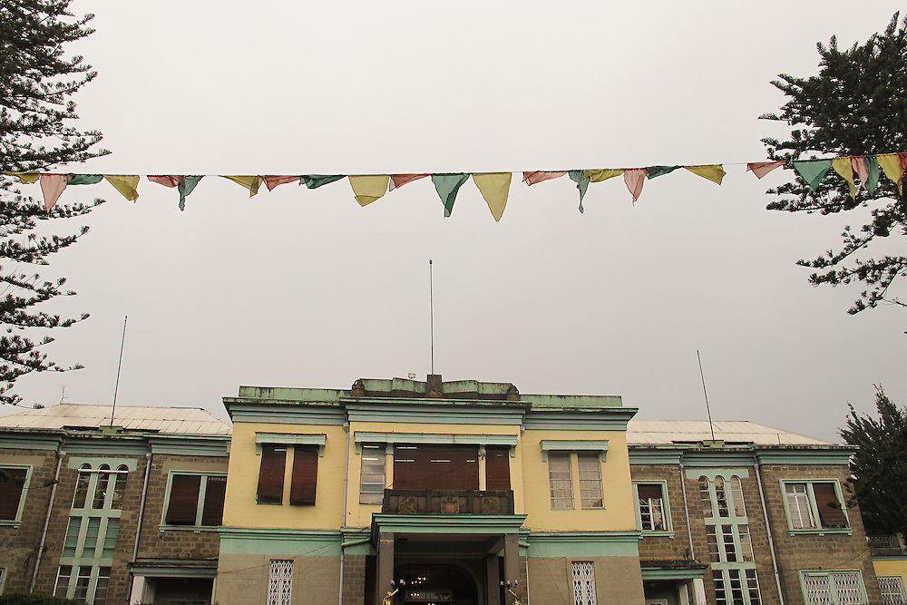 Haile Sealssie's Palace, now a museum in Addis Ababa.